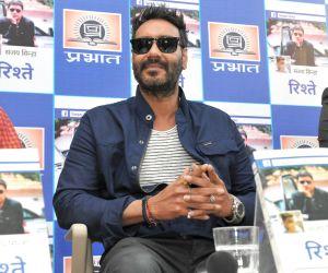Ajay Devgn launches Sanjay Sinha's book 'Rishtey'