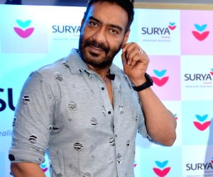 Ajay Devgn during a promotional programme