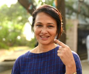 Telangana Assembly election - Celebs cast their votes