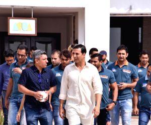 Akshay Kumar at Novotel Juhu