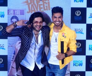 "Trailer launch of film ""Happy Phirr Bhag Jayegi"" -  Ali Fazal and Jassi Gill"