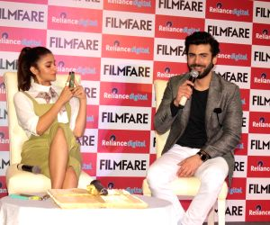 Cover launch of Filmfare Magazine latest issue