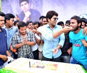 Birthday party celebrations of Allu Sirish