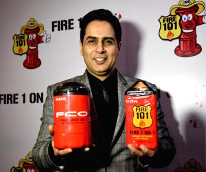 Aman Verma during the launch of a product