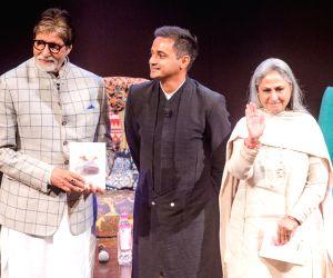 "Siddharth Dhanvant Shanghvi's book ""The Rabbit and The Squirrel"" - Amitabh Bachchan and Jaya Bachchan"