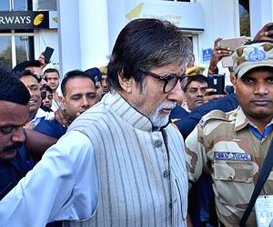 Amitabh Bachchan in Jodhpur to shoot for 'Thugs of Hindostan