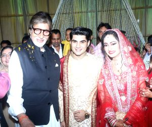 Ali Khan's daughter wedding reception - Amitabh Bachchan
