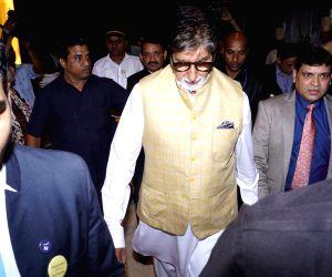 "Amitabh Bachchan launches ""Kuch Shabd Mere"