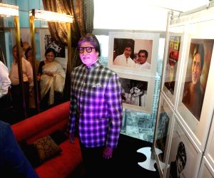 "Inauguration of  ""Frames 75"" exhibition - Amitabh Bachchan"