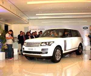 Amitabh Bachchan attends delivery ceremony of Range Rover