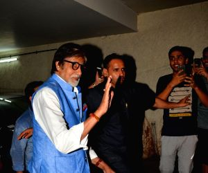 : Mumbai: Bollywood celebrities attend screening of the film Madaari