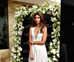 Actor Amitabh Bachchan's daughter Shweta Bachchan-Nanda at the store launch of fashion designers Abu Jani and Sandeep Khosla in Mumbai on Mumbai 16, 2018.