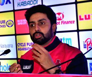 Abhishek Bachchan's press conference