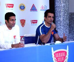 Dabang Delhi's press conference - Sonu Sood