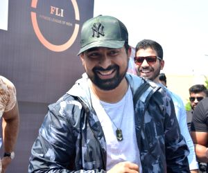 Rannvijay Singh during the audition of new fitness reality show