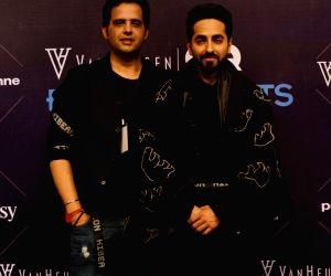 Van Heusen + GQ Fashion Nights 2017 - Ayushmann Khurrana, Sahil Aneja