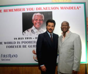 Anil Kapoor at Nelson Mandela first Death Anniversary function