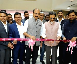 Anil Kapoor during the inauguration of a jewellery store