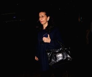 Sunita Kapoor spotted at airport