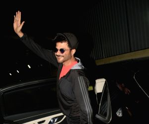 Anil Kapoor seen at a cinema hall