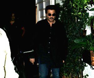 Anil Kapoor seen at a studio