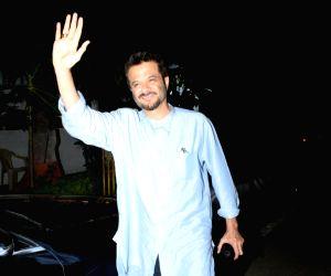 Anil Kapoor seen at Andheri
