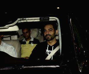 "Special screening of film ""Dhadak"" - Aparshakti Khurrana"
