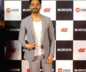 "Trailer launch of film ""Stree"" - Aparshakti Khurrana"