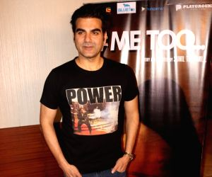 #Me too' special screening - Arbaaz Khan