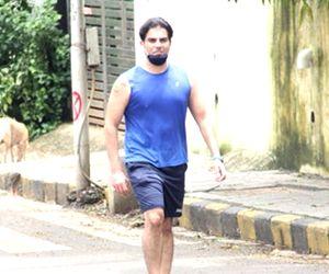 Arbaaz Khan seen at Bandra