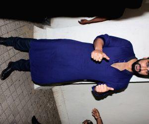 Arjun Kapoor at a cinema hall