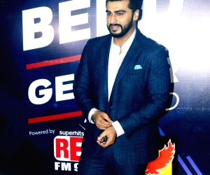 Arjun Kapoor at a radio station