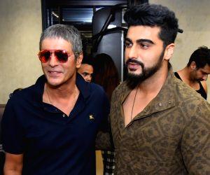 Arjun Kapoor, Chunky Pandey, Sanjay Kapoor launch fitness center
