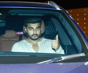 "Special screening of film ""October"" - Arjun Kapoor"
