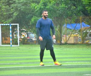 Arjun Kapoor during a football match