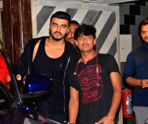 Arjun Kapoor seen at Juhu gym