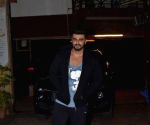 Arjun Kapoor seen at Juhu gym