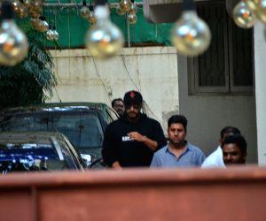 Arjun Kapoor seen at a sound studio