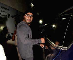 Arjun Kapoor seen at cinema theater