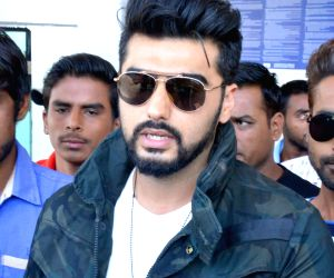 Arjun Kapoor spotted at Jodhpur airport