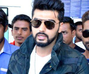 Arjun Kapoor spotted at Jodhpur airport