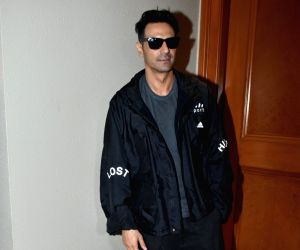 """Actor Arjun Rampal at the promotion of his upcoming web series """"The Final Call"""" in Mumbai, on Feb 18, 2019."""