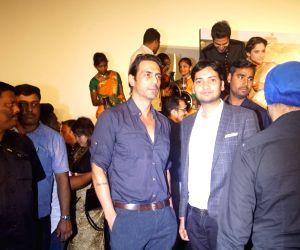 "Actor Arjun Rampal at the trailer launch of upcoming film ""Manikarnika: The Queen of Jhansi"" in Mumbai on Dec 18, 2018."