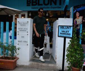 Actor Arjun Rampal seen at Bandra in Mumbai on Feb 26, 2019.