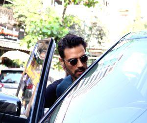 Actor Arjun Rampal seen in Mumbai's Bandra, on March 14, 2019.