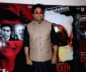 "Film ""Chicken Curry Law"" promotions - Ashutosh Rana"