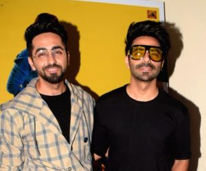 Ayushmann and Aparshakti