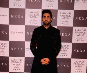 Lakme Fashion Week Winter/Festive 2019 - Ayushmann Khurrana