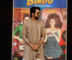 Trailer launch of film Pyaari Bindu