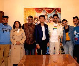 Ayushmann Khurrana catches up with LGBTQI+ fans in Delhi